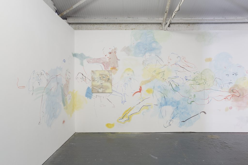 installation-view-2-of-site-specific-wall-mural-france-lise-mcgurn