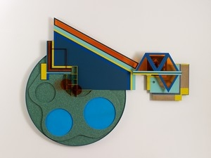 Island of peace 2012 mixed media Matthew Houlding: The Oceanic