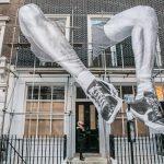 Artist JR unveils 22ft installation in Mayfair, London. FAD Magazine