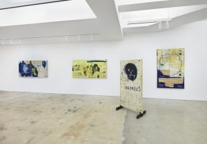 Installation view, Nahmad Contemporary. Photographs by Tom Powel Imaging, © Estate of Jean-Michel Basquiat. Licensed by Artestar, New York