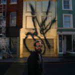Artist Stefan Brüggemann unveils a new public artwork: OK (untitled action) photo: John Nguyen/PA Wire