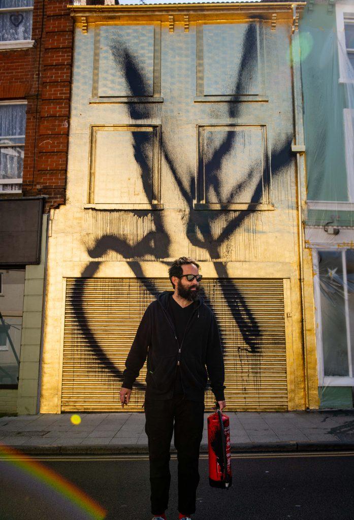 Artist Stefan Brüggemann unveils a new public artwork: OK (untitled action) FAD MAGAZINE