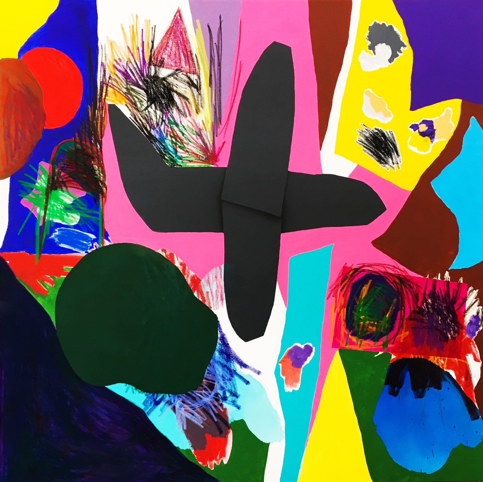 Jannis Varelas 2017 A plane over me