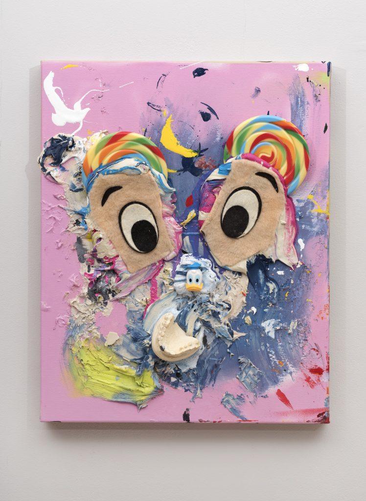 James Ostrer, Fuck A Duck, 2019, 50.8 x 40 x 9 cm
