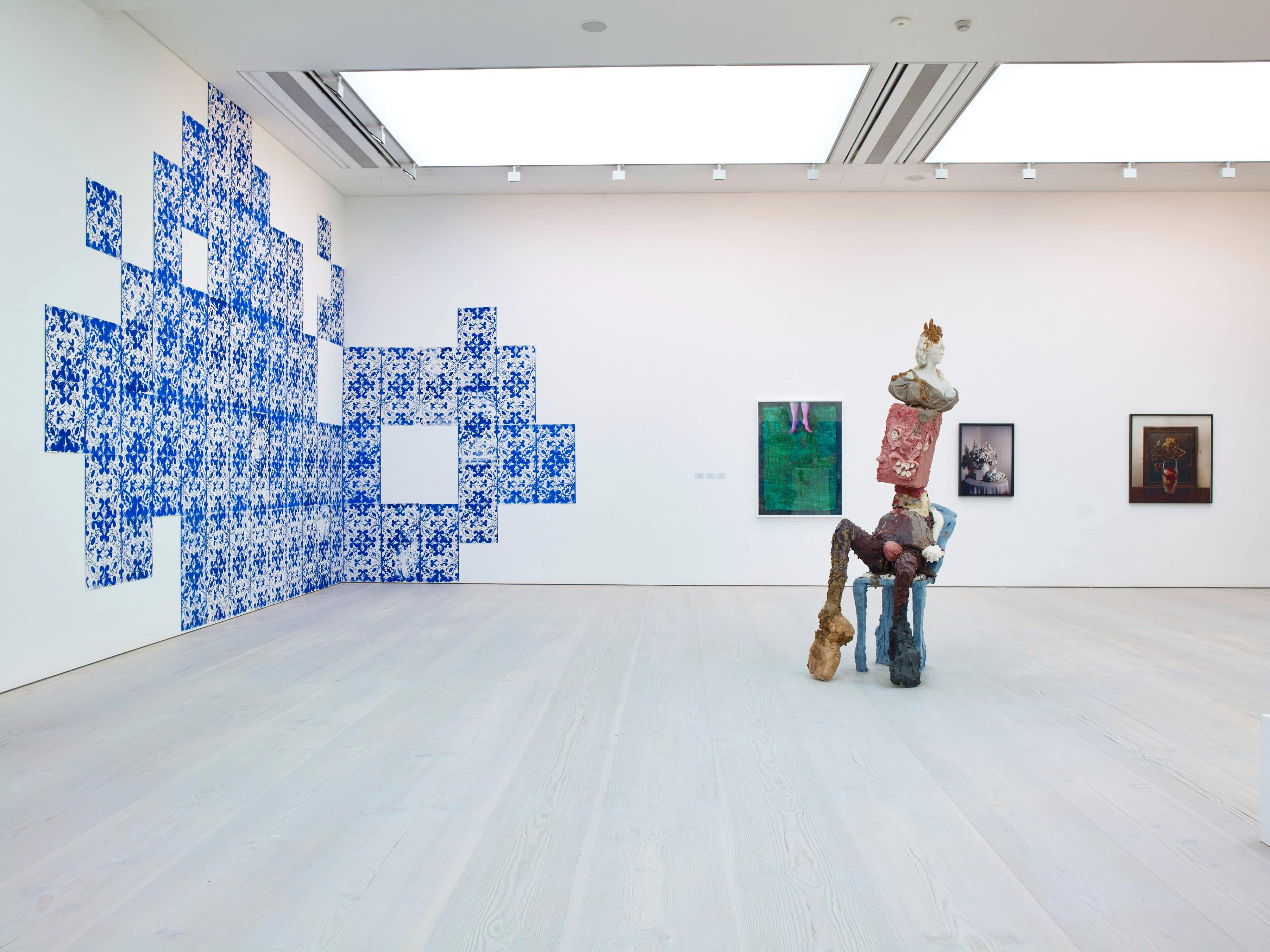 Artist Jamie Fitzpatrick install image