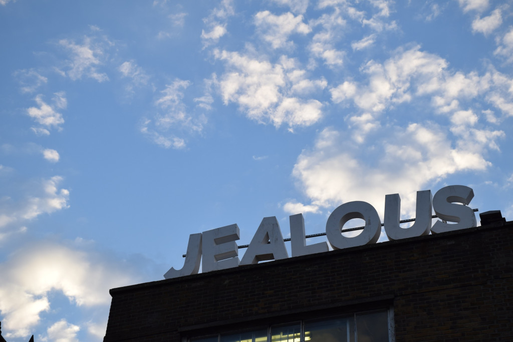 Jealous sign clouds