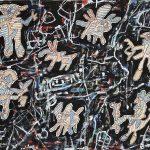 Jean Dubuffet, La chasse au biscorne (EG 77) 19 aou?t 1963, 1963, 57.7 x 75.2 cm Courtesy Waddington Custot © Fondation Dubuffet/ADAGP, Paris