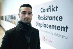 Curator Kosha Hussain.