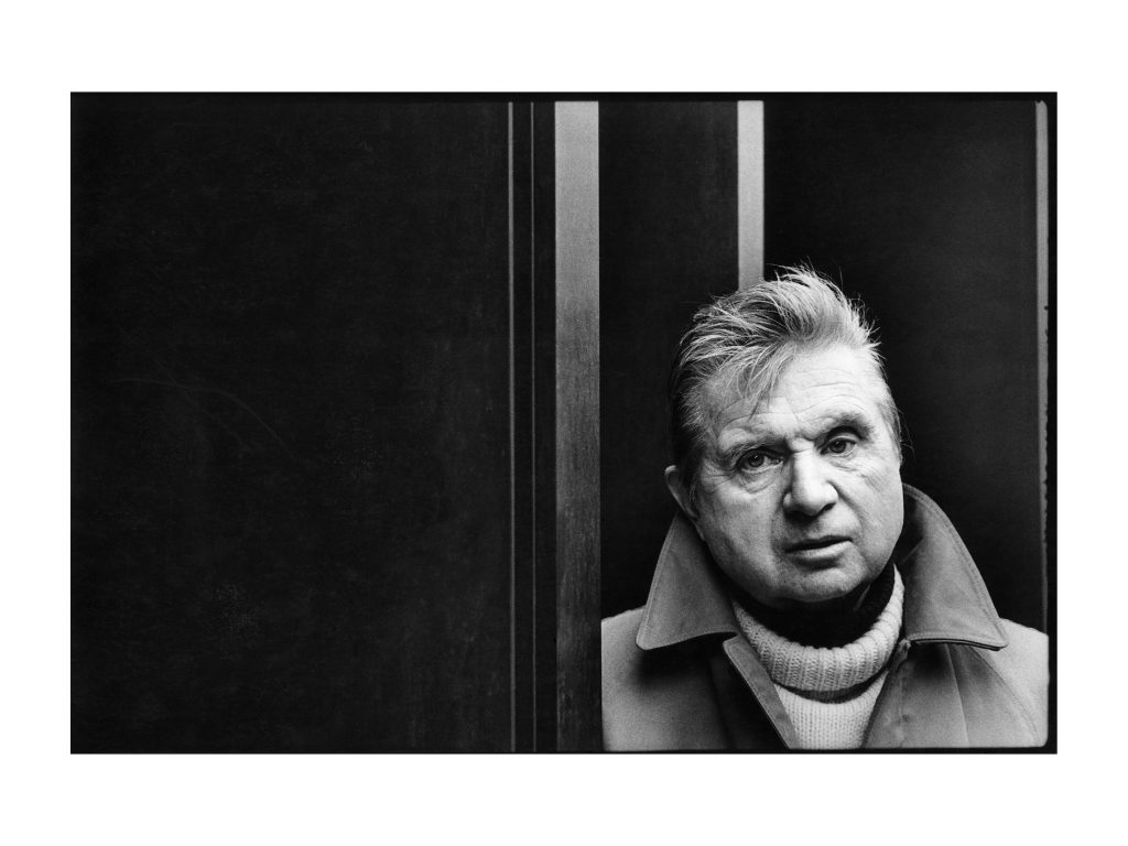 Jesse Fernandez, Francis Bacon (London) (1978). Gelatine Silver print © Estate France Mazin Fernandez. Courtesy of (S)ITOR