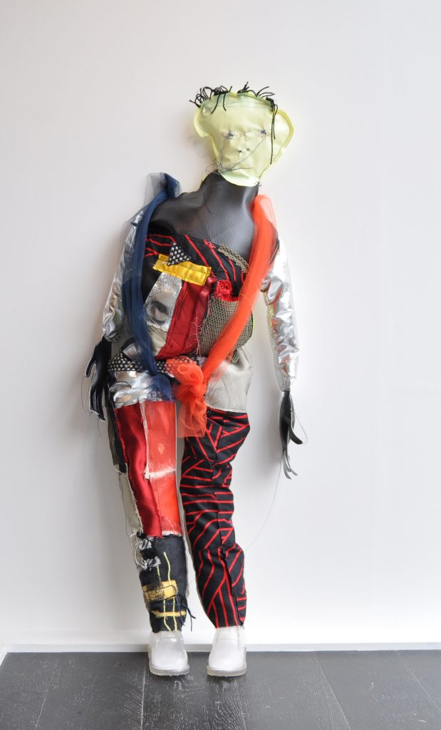 Jesse, Mixed media sculpture, dimensions variable, 2019