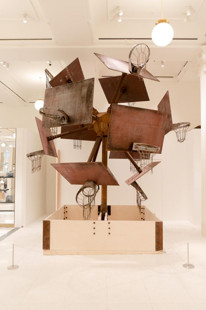 John Margaritis - Broken Time £115,000 - Selfridges launches State Of The Arts, a new art campaign running until 30 March