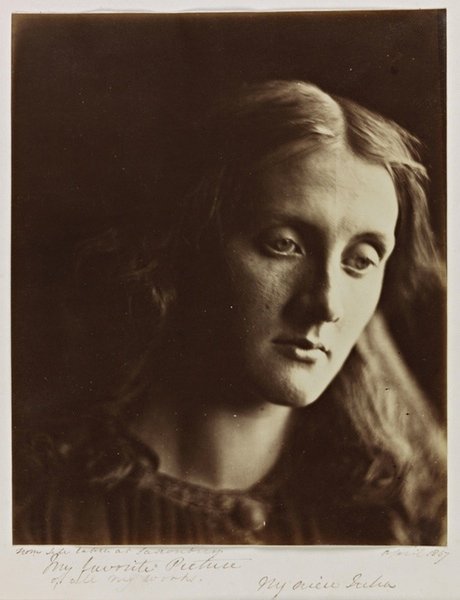 Julia Margaret Cameron 1867 portrait of niece, Julia Jackson ? mother of Virginia Woolf