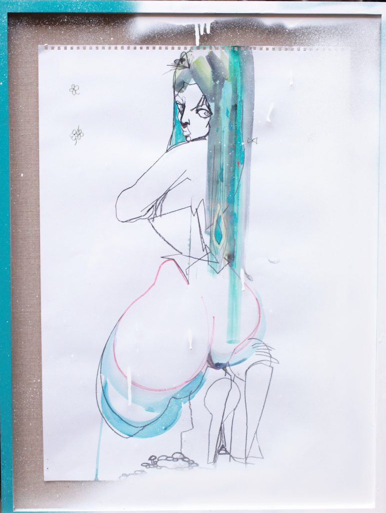 Julie Verhoeven - BUM ©The Artist FAD MAGAZINE