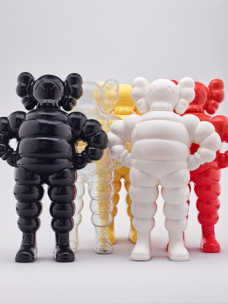 KAWS b. 1974 Group of five CHUMS Executed in 2002 Estimate for each: £800 - 1,200