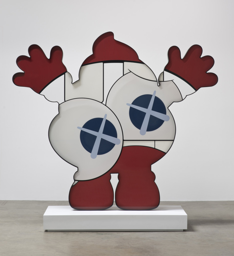 KAWS, He Eats Alone (Warm Regards), 2014. Courtesy the artist and YSP. Photo by Brian Forrest