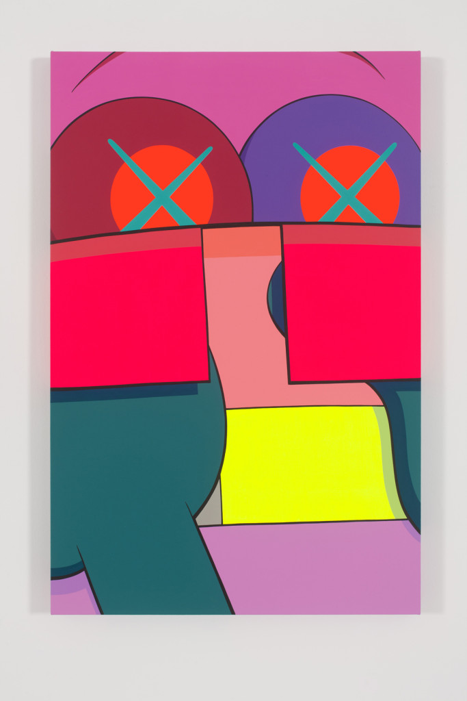 KAWS, Ups and Downs (7), 2012. Courtesy the artist and YSP. Photo by Farzad Owrang