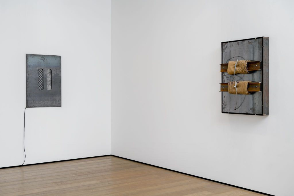 A new exhibition of works by Jannis Kounellis