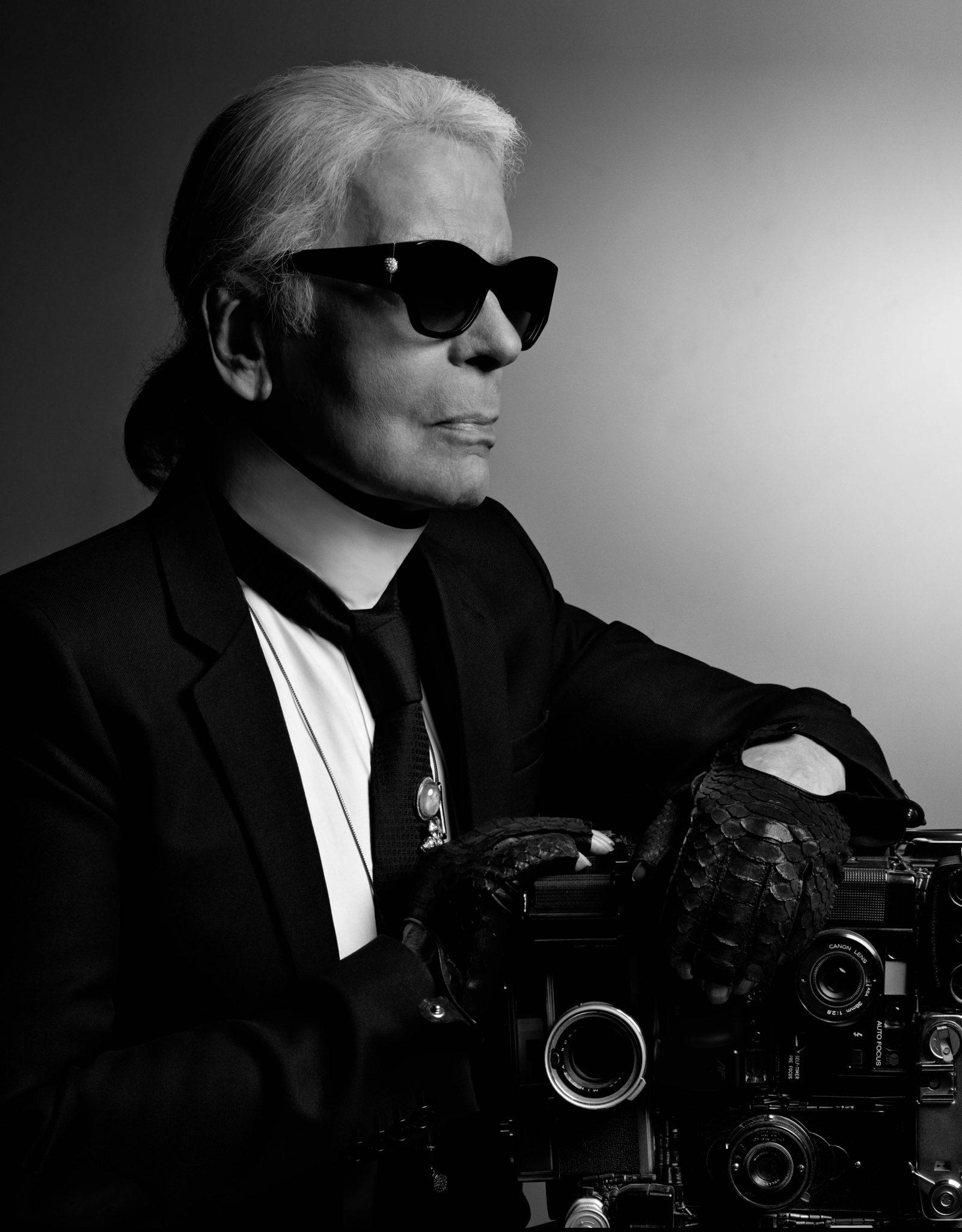 Karl Lagerfeld_Self_portrait_2017_ FAD Magazine
