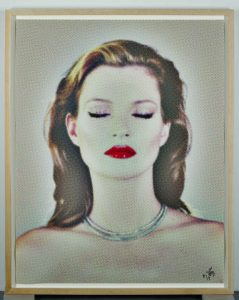 Kate Moss She's Light (Dots), 2013. Silkscreen. Edition of 3 + 3+1AP