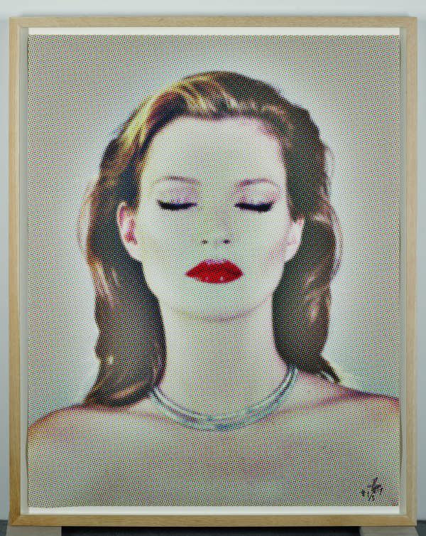 Kate Moss She's Light (Dots), 2013. Silkscreen. Edition of 3 + 3+1AP