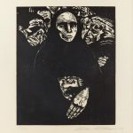 Kathe Kollwitz Krieg Plate 7, The People, 1922 © The Trustees of the British Museum