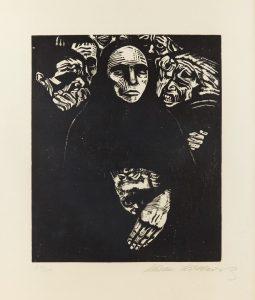 Kathe Kollwitz Krieg Plate 7, The People, 1922 © The Trustees of the British Museum