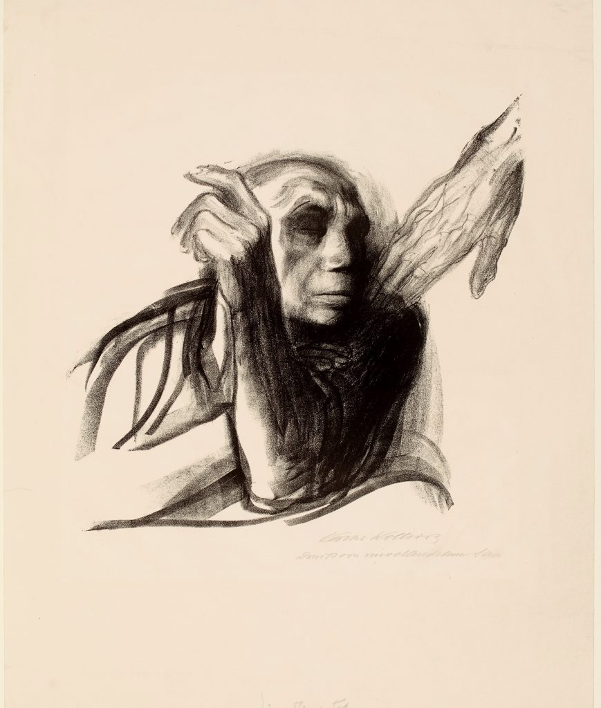 Kathe Kollwitz Ruf des Todes (Call of death), 1934–35© The Trustees of the British Museum
