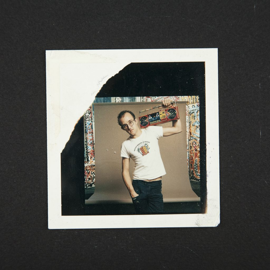 © Keith Haring Foundation. Polaroids, The Keith Haring Foundation Archives