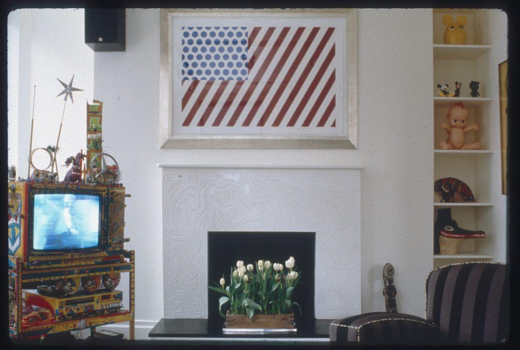 Keith-Haring_Laguardia-Apartment-Credit-Nancy-Elizabeth-Hill- FAD magazine