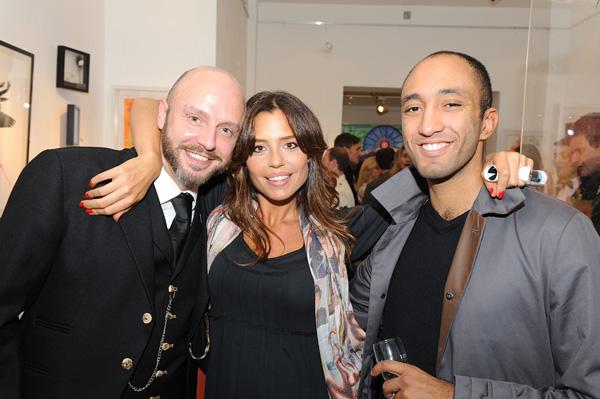 Keith Newlove, Maria Laura Matthey & Kamel Aouane