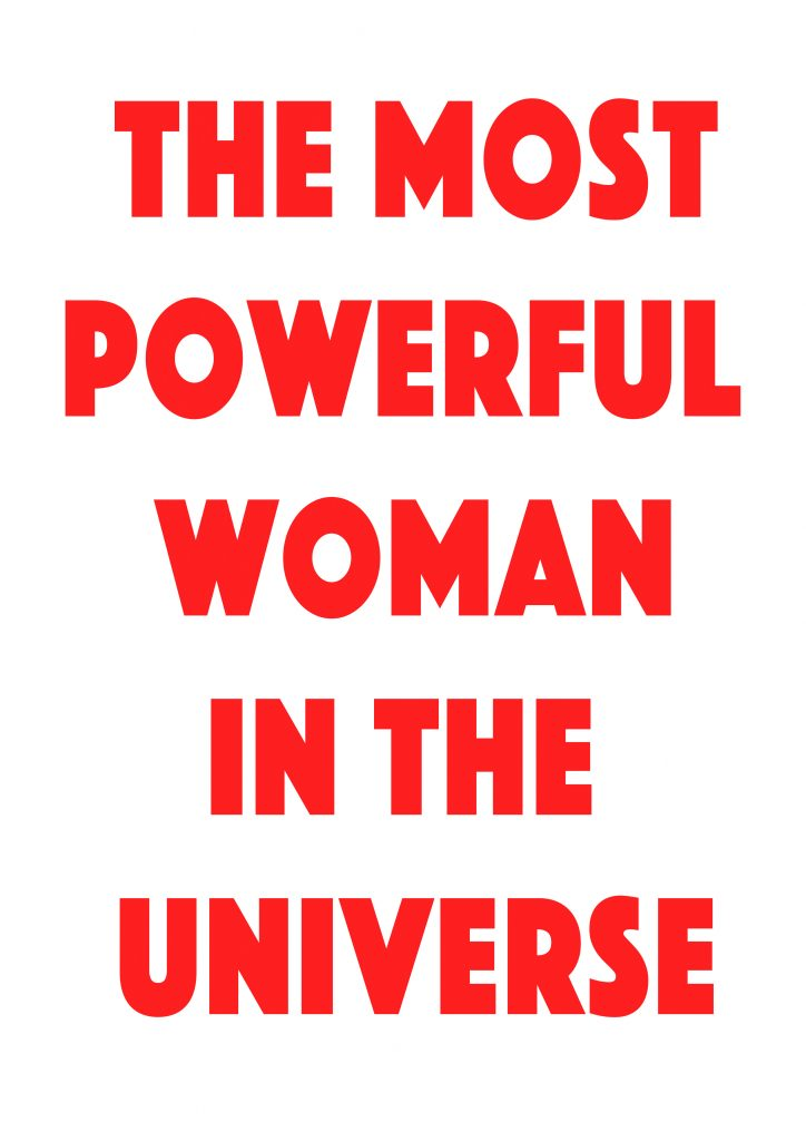 The Most Powerful Woman in the Universe, Kelly-Anne Davitt,
