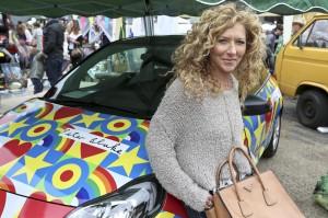 Kelly Hoppen at the Vauxhall Art Car Boot Fair 2013 (14)