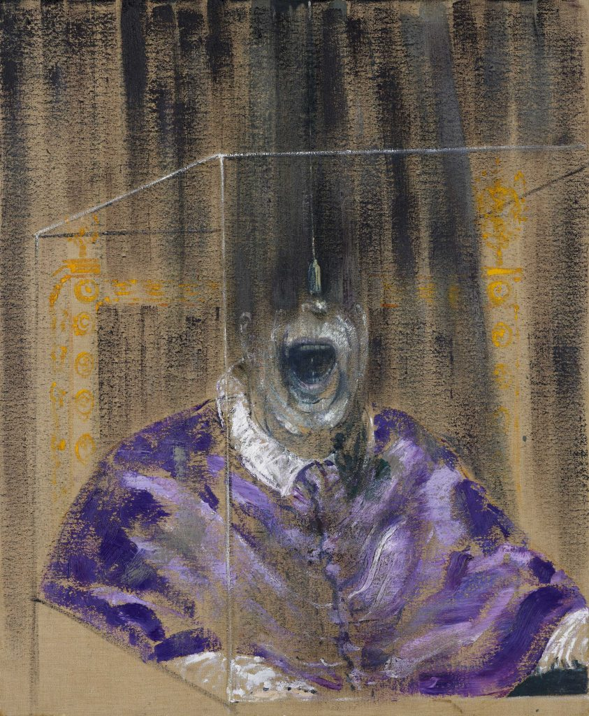Francis Bacon, Head VI, 1949 Oil on canvas, 91.4 x 76.2 cm Arts Council Collection, London © The Estate of Francis Bacon. All rights reserved, DACS/Artimage 2020. Photo: Prudence Cuming Associates Ltd FAD magazine