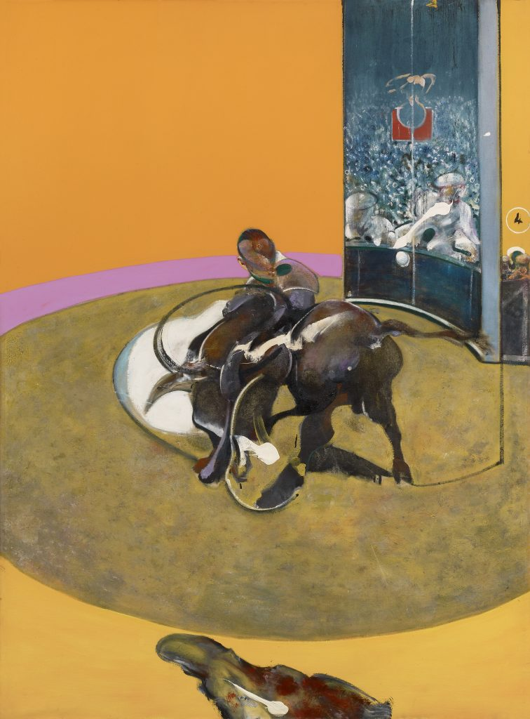 Francis Bacon, Study for Bullfight No. 1, 1969 Oil on canvas, 197.7 x 147.8 cm Private collection, Switzerland © The Estate of Francis Bacon. All rights reserved, DACS/Artimage 2020. Photo: Prudence Cuming Associates Ltd FAD magazine