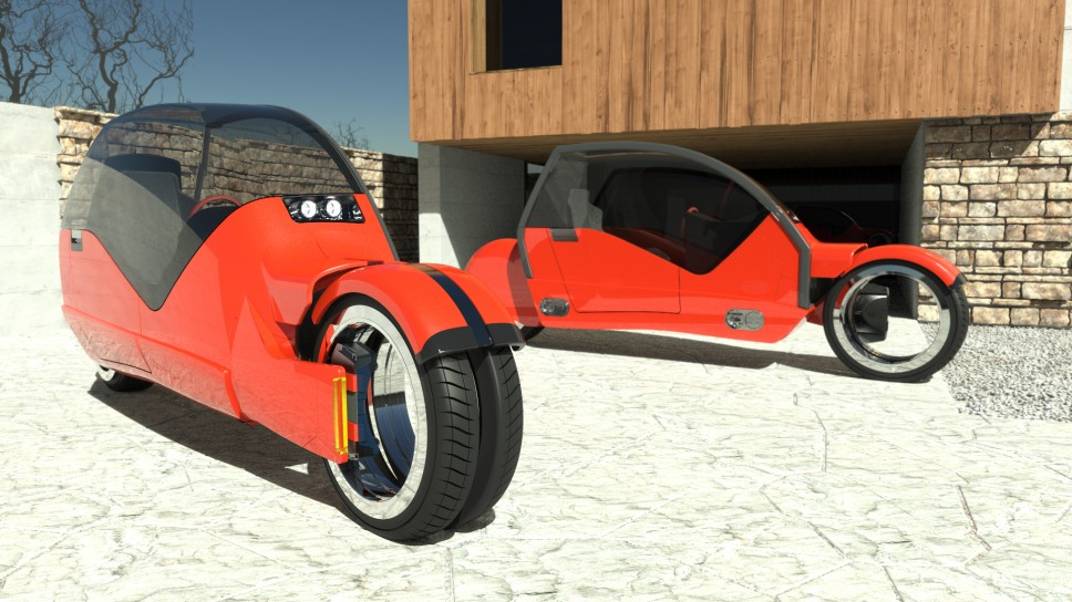 The Car That Splits In Half To Create Two Motorcycles Fad Magazine