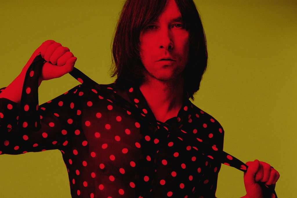 Lead singer of Primal Scream_ Bobby Gillespie