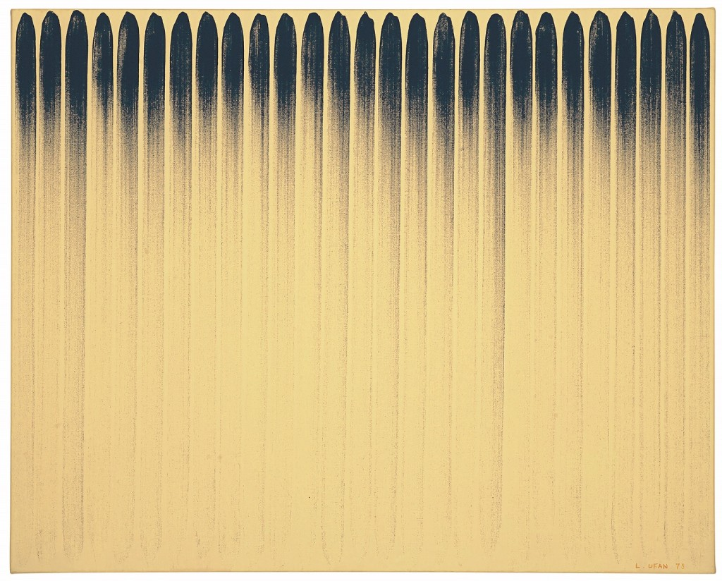 Lee Ufan (B. 1936), From Line No. 780231