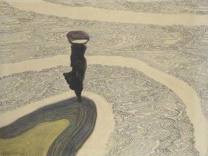 Leon Spilliaert Woman at the Shoreline 1910