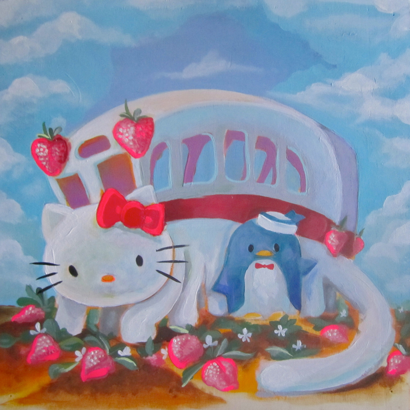 Linas Garsys Travel 800 Hello Kitty, Hello Art! Art Exhibition & Book Launch Hits  New York City's Openhouse Gallery