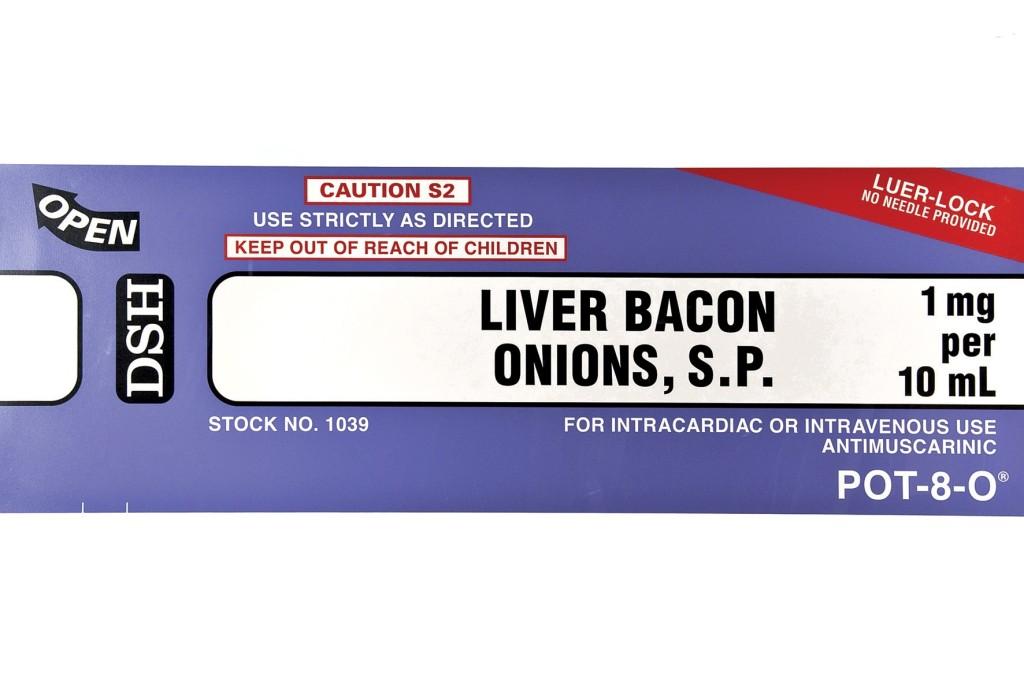 Damien Hirst Liver and bacon landscape