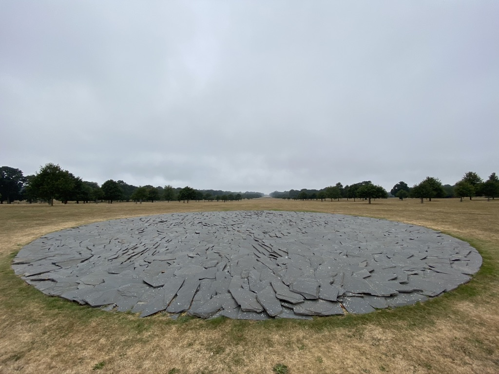 Richard Long at Houghton Hall / Photo by Sky Sharrock