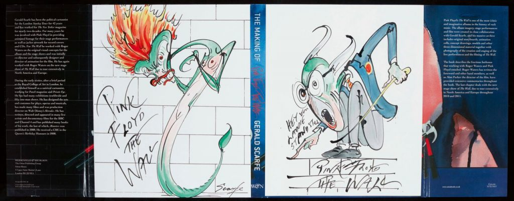 Gerald Scarfe - The Making of Pink Floyd FAD Magazine