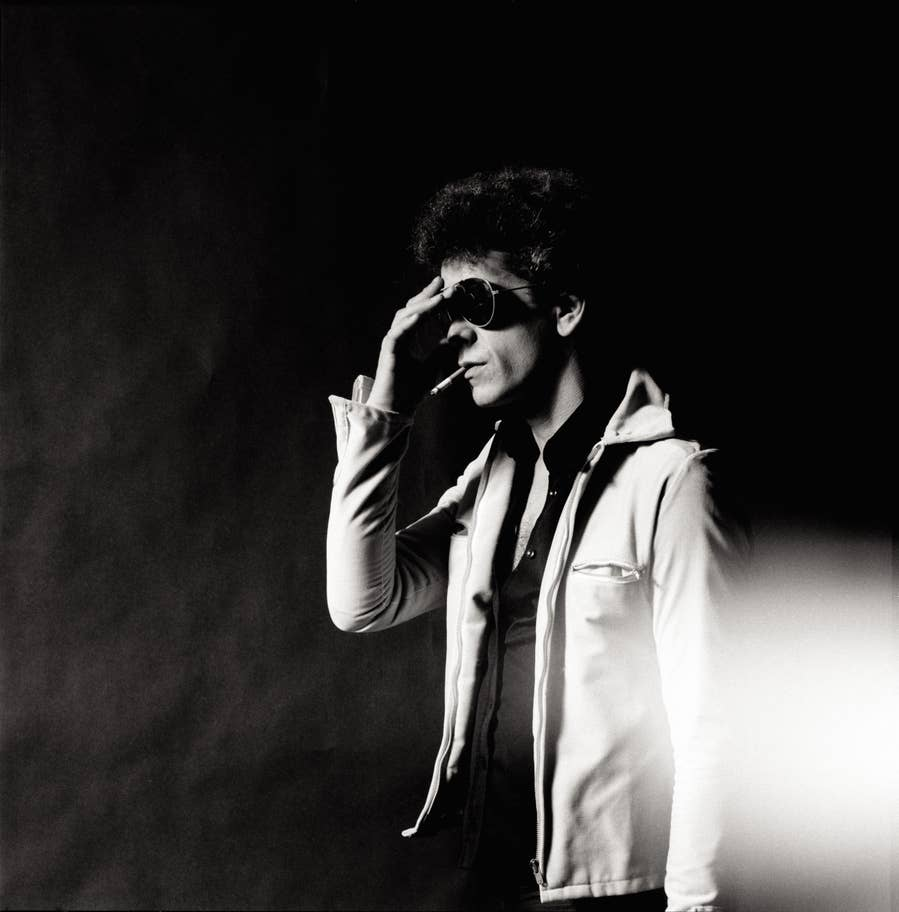FAD MAGAZINE Lou Reed-Hand To Forehead-NYC-1976(c)MickRock
