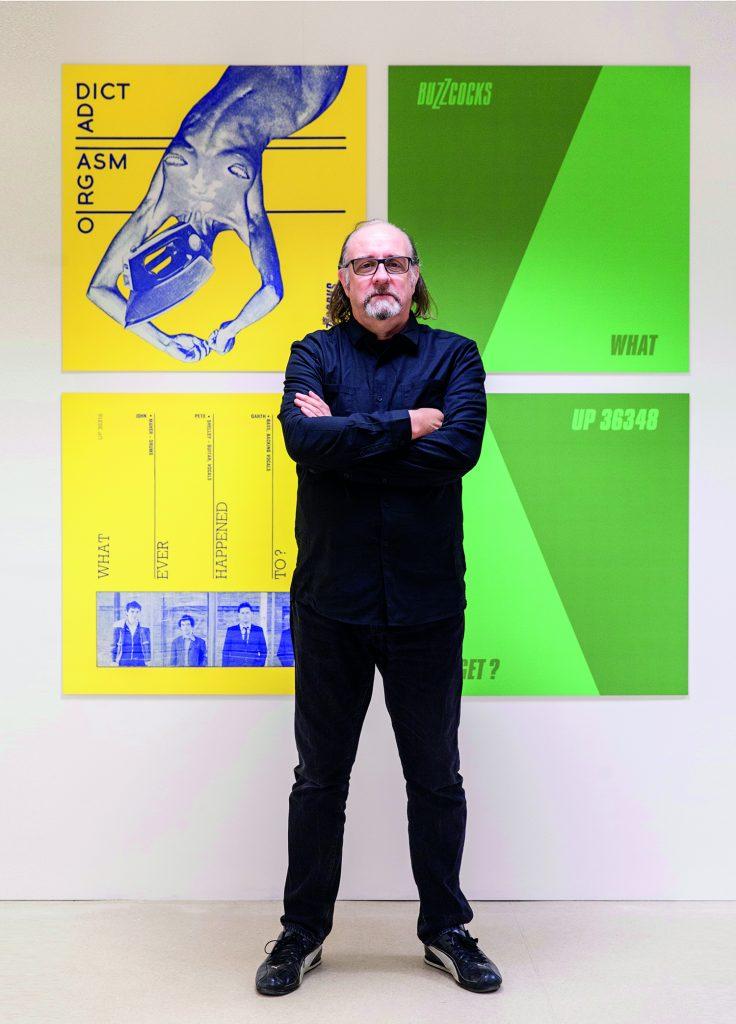 Malcolm Garrett in gallery 2017