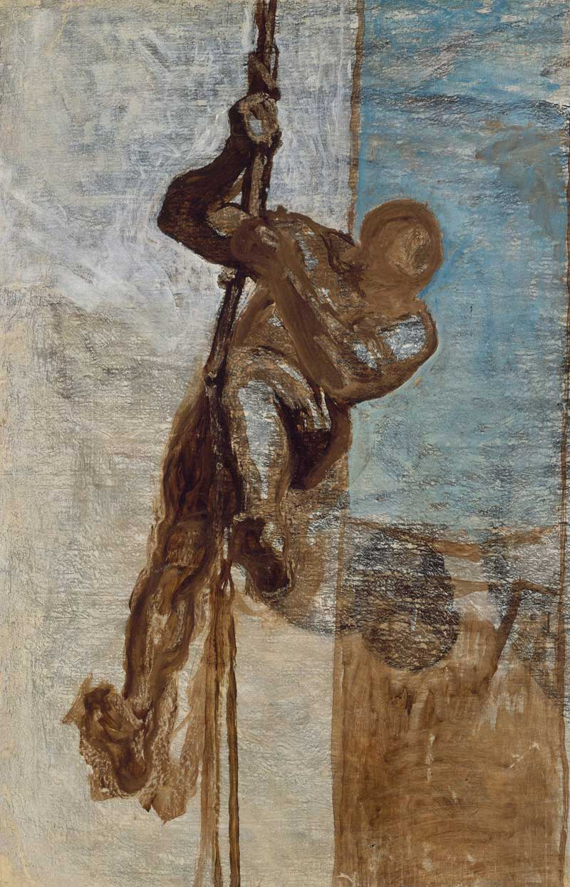 Man on a Rope, 1858