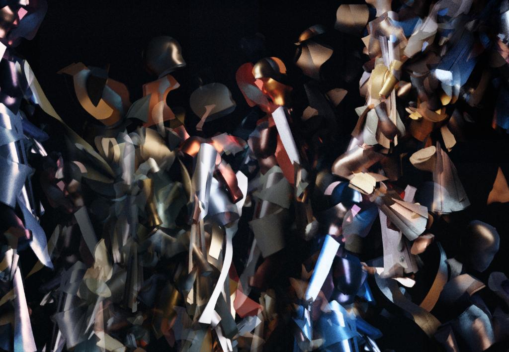 Marco Brambilla, Nude Descending a Staircase No.3, 2019, Oculus World Trade Center (5)