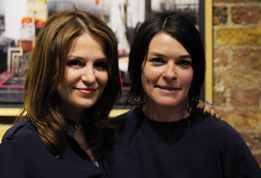 Maria Raposo and Sue Webster