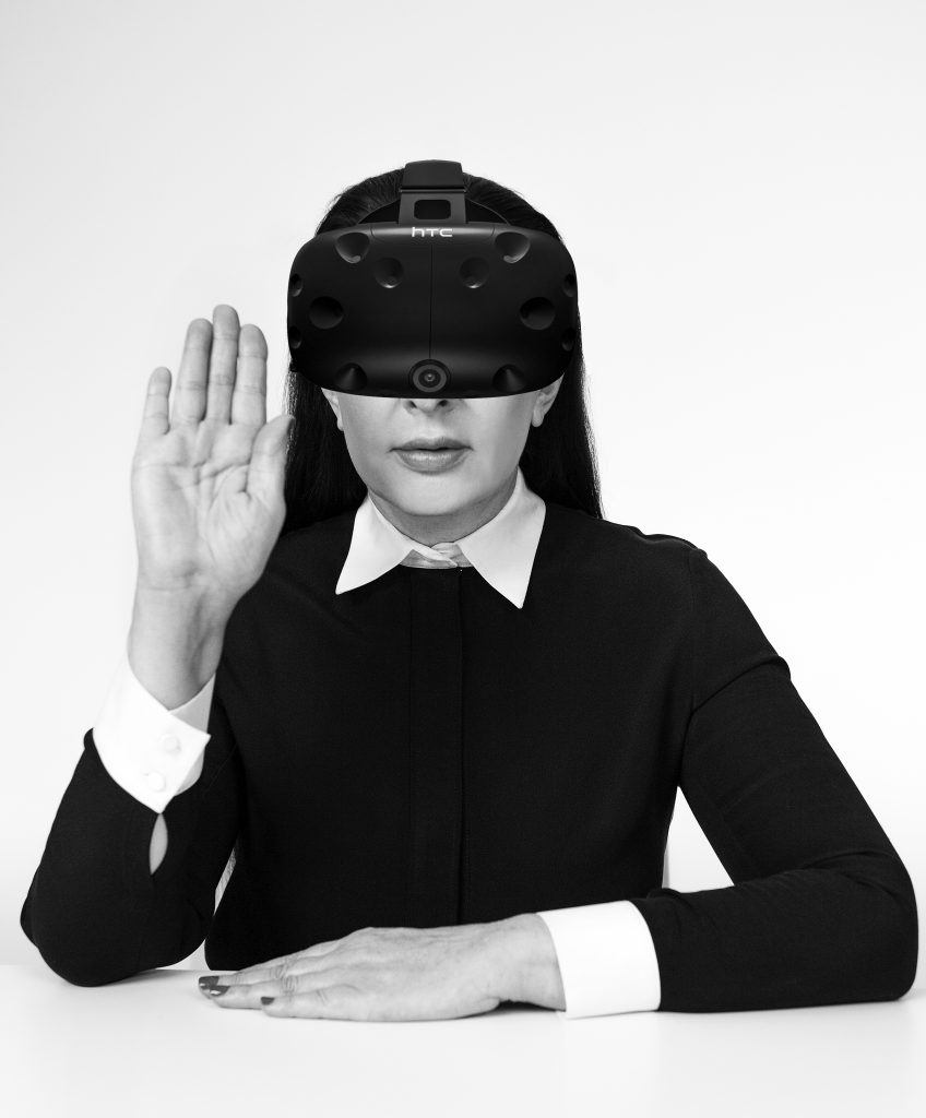 Marina Abramovi?, courtesy of Acute Art  FAD MAGAZINE