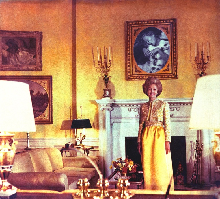 Martha Rosler First Lady 1967-72 from the series House Beautiful Bringing the War Home © Martha Rosler