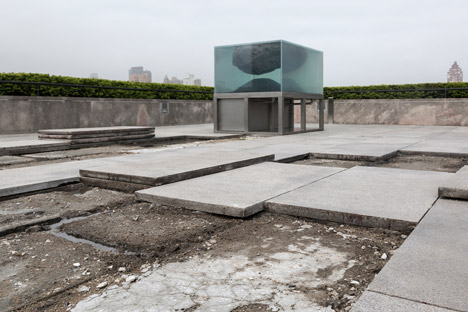 Pierre Huyghe's rooftop installation at the Met